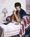 Agnes Noyes Goodsir, Girl with Cigarette, ca.1925
