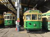 Vintage trams Melbourne