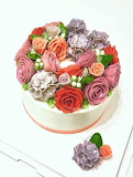 Pretty cake @the_cakemansion