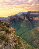 Blyde river canyon three rondavels mpumalanga