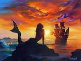 Mermaid by Jim Warren
