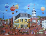 Ballooning over Annapolis - Carol Dyer
