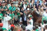 Siena - Oca Palio luglio 2011 benedizione del cavallo
