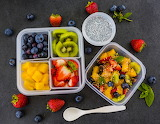 Colorful Fruit Meal