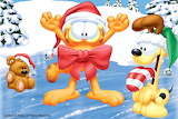 Merry Christmas From Garfield and Odie