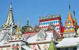 Izmailovsky Market architectural detail - Russia