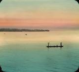 """Riverscape """"Native Boat"""" """"Congo River"""""""