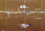 Boats. Wassily Kandinski 1904