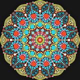 #Dot Mandala by Viola Fodor