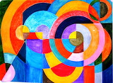 Colours-colorful-circles-valentino bruschi-art-painting