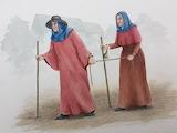 Plague Victims by Susan Ray at Wallingford Museum