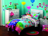 ✿ Vibrant girl bedroom ✿