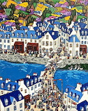 Fete a Pont Aven by Bruno Tremohars