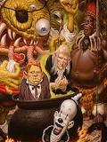 Horror Cartoon