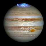 Auroras on Jupiter Hubble Space Telescope, ESA NASA