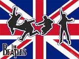 The Beatles-British flag