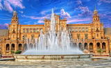☺♥ Plaza de España Square in Seville...