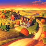Fall on the Farm - Robin Moline