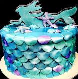 Mermaid cake