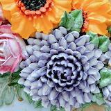 Cake flowers by Rosa Maria Escribano