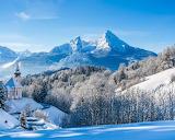 Remote Church in The Alps