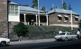 Gosford Police Station circa 1980s Beryl Strom photograph Courte