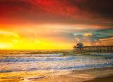 Beautiful Summer Sunset View
