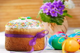 Easter-cake-eggs-flowers-spring