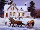 Christmas eve sleigh ride-318511-1260615272