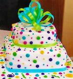 #Polka Dot Cake