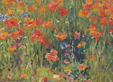 Robert Vonnoh, Poppies, 1888