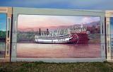 Mississippi River Murals Vicksburg Mississippi 2