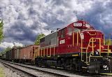 Train Locomotive Georgia Northeastern 8705