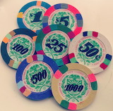Casino of Isthmus City Gambling Chips