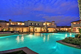 luxury villas and pool