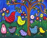 ^ Whimsical Birds ~ Renie Britenbucher