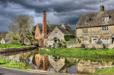 England Houses Rivers Cotswold