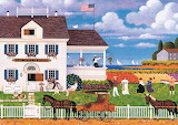Tea by the Sea by Charles Wysocki