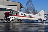 TryGG Air Alaska de Havilland Canada DHC-2 Beaver Ski plane