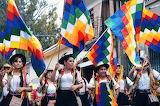 parade in Cochabamba, Bolivia
