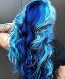 Blue You Hair Art