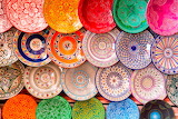 Colours-colorful-handicraft-dishes-world-human-rights-Marrakech