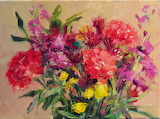Beautiful Bouquet of Flowers Painting