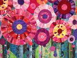 Flower circles quilt