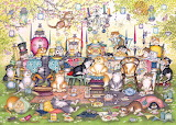 Mad Catter's Tea Party - Linda Jane Smith