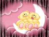 Teddy Bear Moon Clouds
