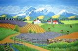 ^ Mountain View Farm ~ Ellen Eilers