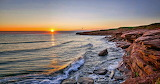Cavendish Beach sunset Canada