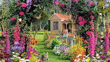Beautiful-flower-garden-healthy-life-house--shed