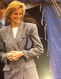 ^ Princess Diana at Burghley Horse Trials, Stamford, September 1